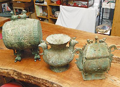 中国古代の青銅器展
