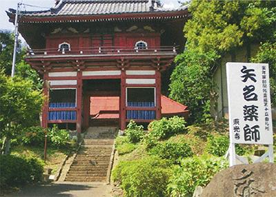 東光寺仁王門で見学会