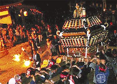 健速神社火祭りハイク