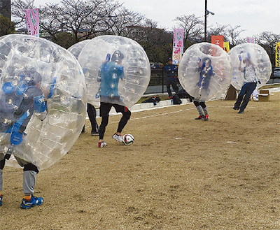 バブルサッカー出場募集