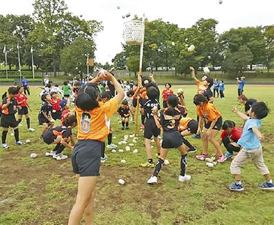 スポーツ少年団運動会