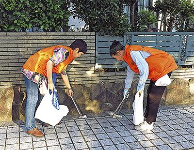 市内各地区で清掃活動