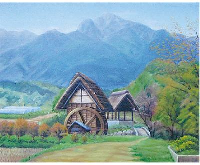 岡田又郎油絵展