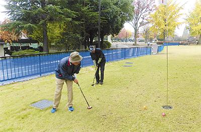 パークゴルフ場を開設