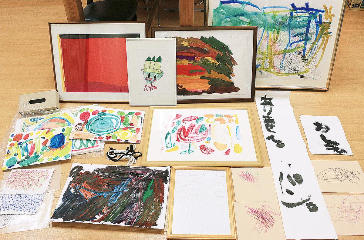 重度知的障害者のアート展示