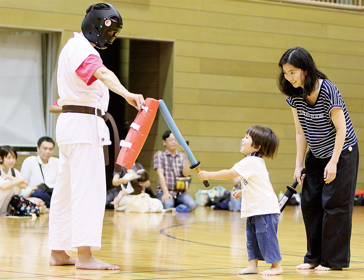 武道祭で魅力発信