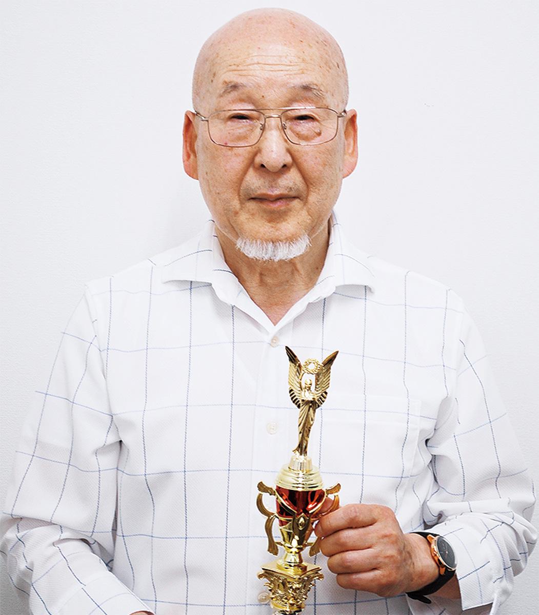 優勝した森本さん