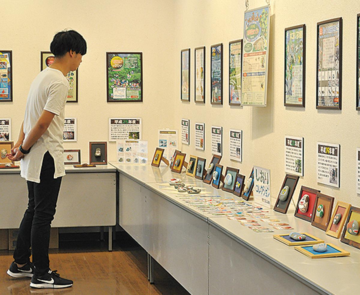 阿木二郎さんポスター展