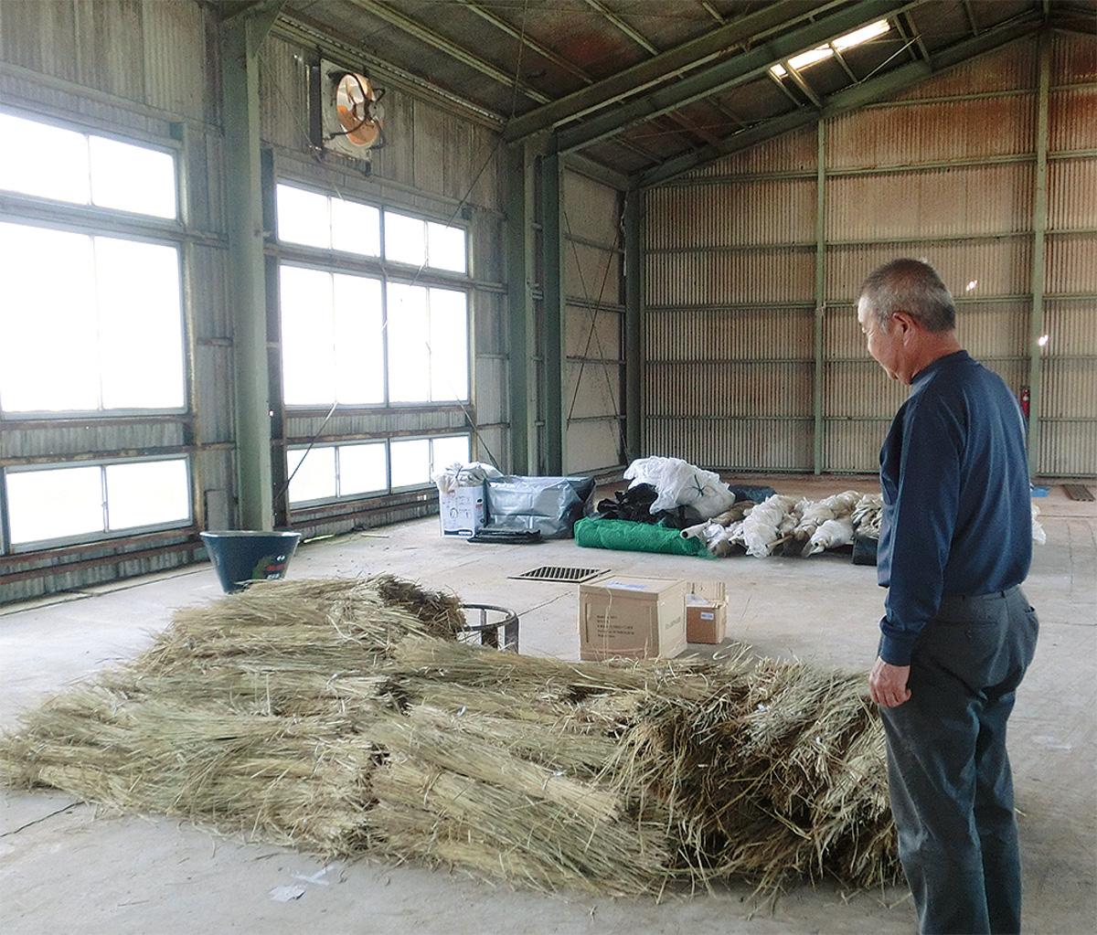 新規就農者へ倉庫貸出