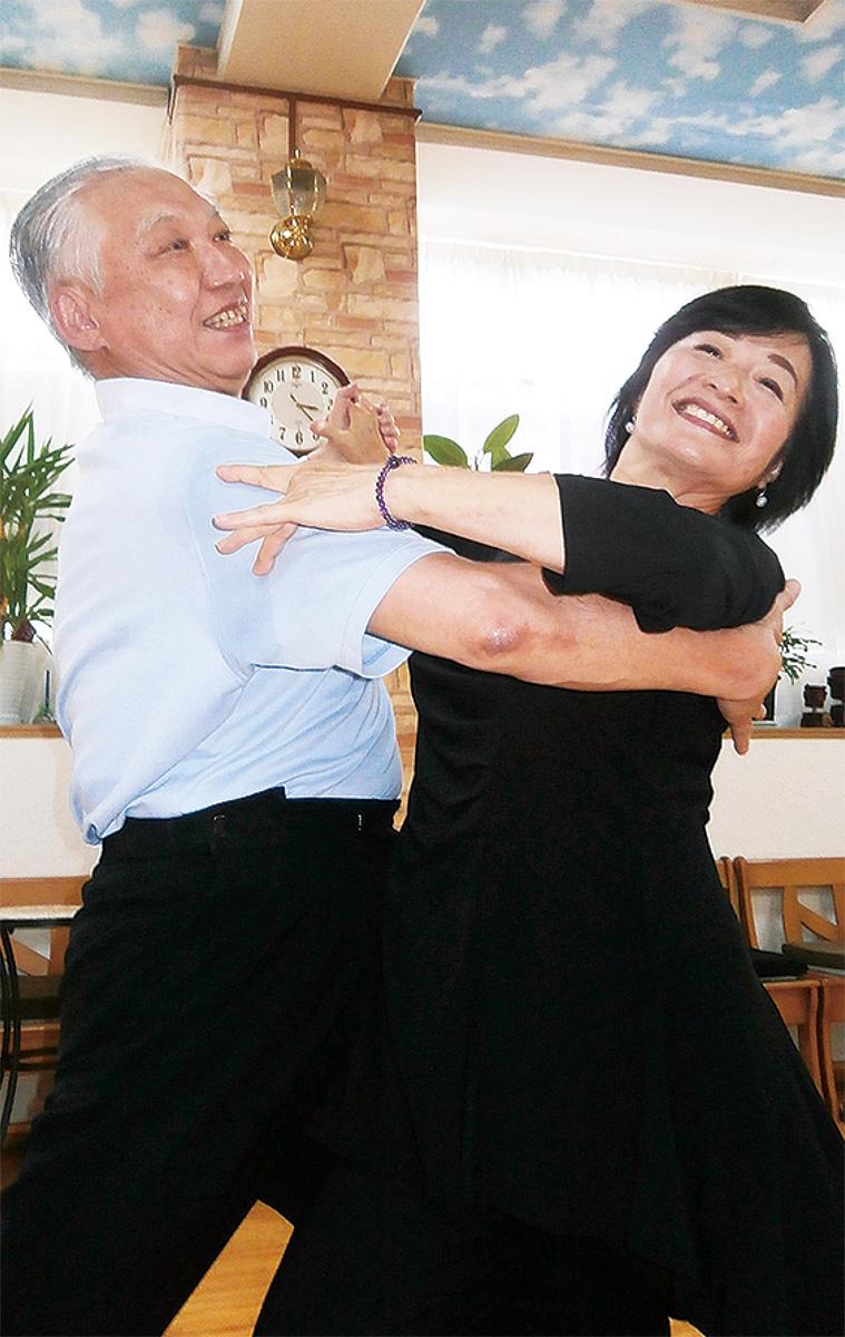 ダンスは夫婦の元気の源