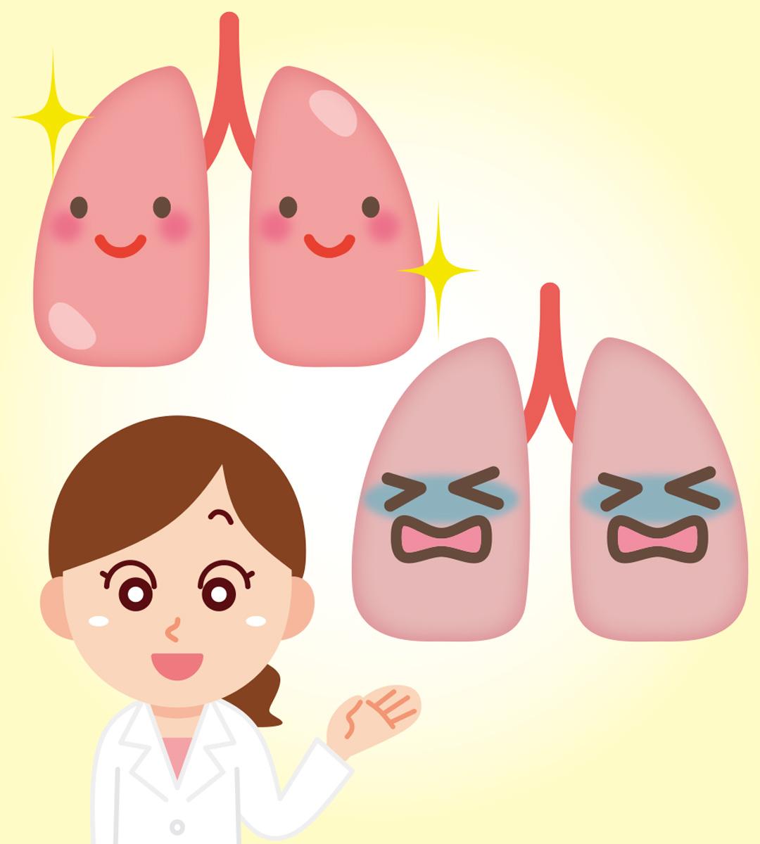 「肺寿命を考えよう」