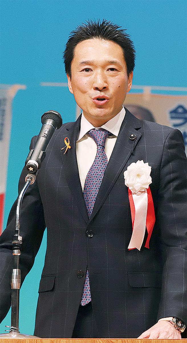 神倉県議 2期目の出馬表明