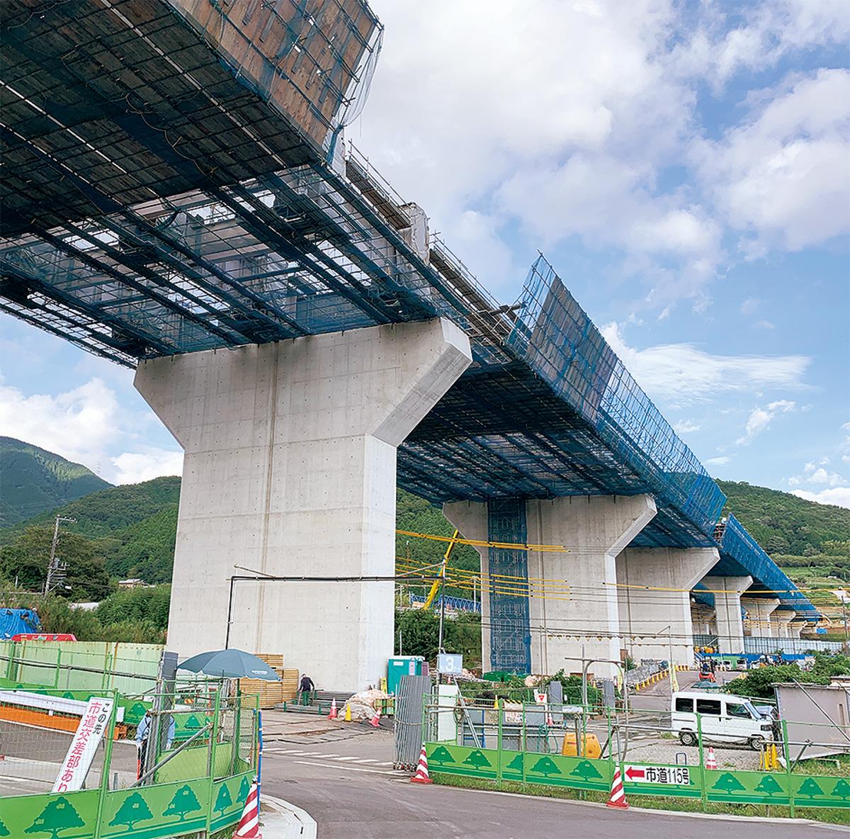 高速 道路 工事 新 東名