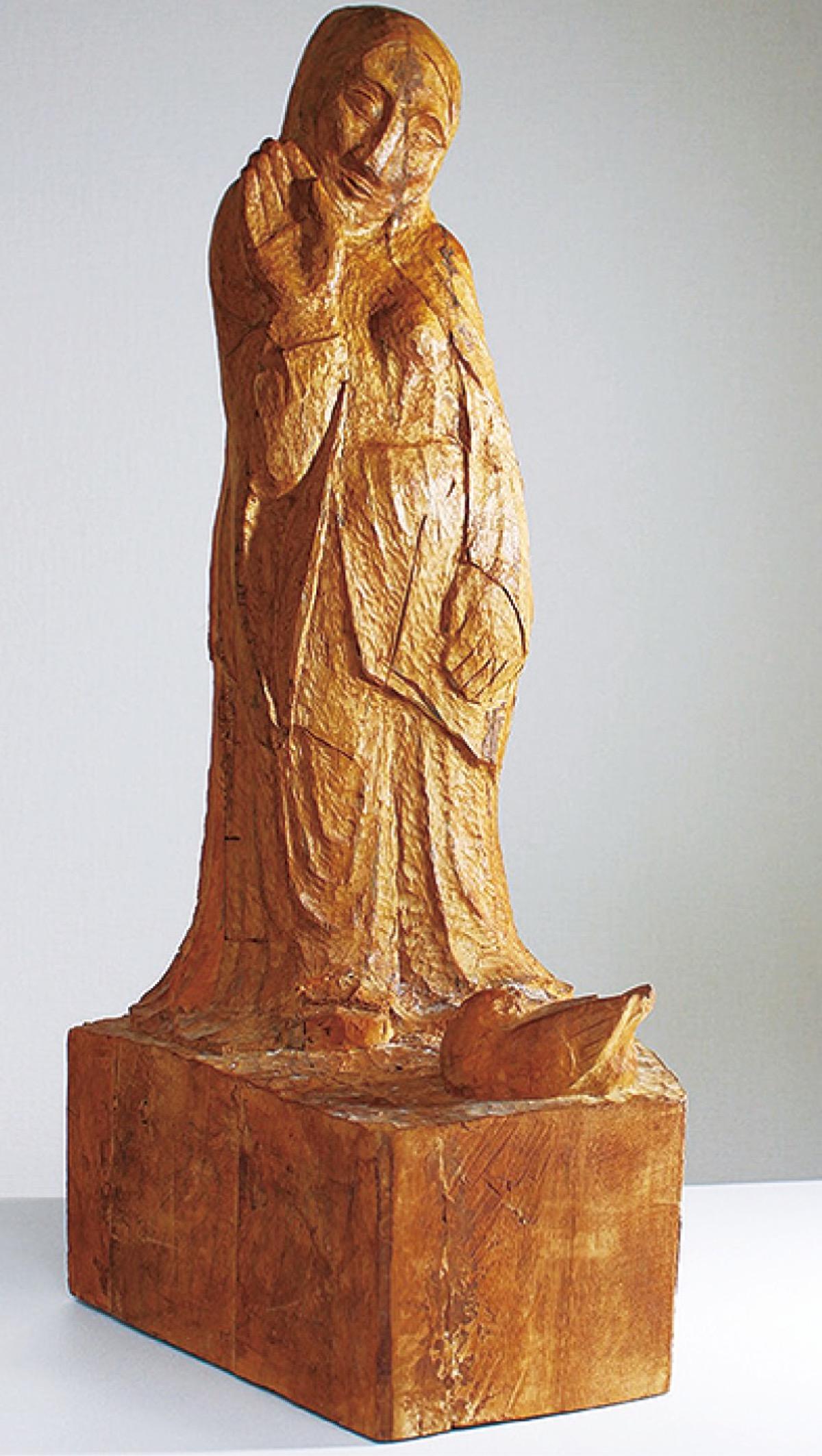 宮永岳彦生誕100年記念事業 彫刻家・小島弘の回顧展 22日まで市民 ...