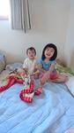 高嶋 涼 ちゃん 2015年8月30日生まれ 女の子 藤沢市 大好きなお姉ちゃんと一緒に