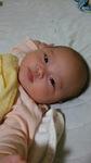 百合草 花音 ちゃん 2016.7.8生まれ 女の子 秦野市 いつもみんなを幸せにさせてくれてありがとう☆よく笑うようになっておしゃべりしているようで毎日の成長に驚いています!素敵な女の子になってね!パパ、ママより
