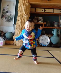 石井悠真ちゃん 2016.1.17生まれ 男の子 秦野市 家族みんなを笑顔にしてくれてありがとう!これからも明るく元気に育ってね!大好きだよ悠真!パパママより
