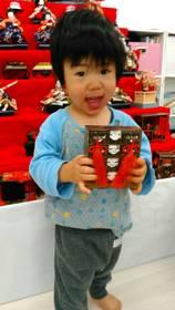 庄司悠馬ちゃん 2014.6.30生まれ 男の子 3才 明るい、わがままな子です