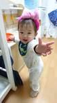 横山皐月ちゃん 小田原市 2018.5.10生 女の子 さっちゃんの笑顔は家族みんなを幸せにします♪大好きなにぃにといつまでも仲良しな兄妹でいてね!